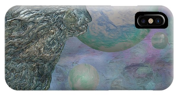Visual Illusion iPhone Case - Above The Clouds by Jack Zulli