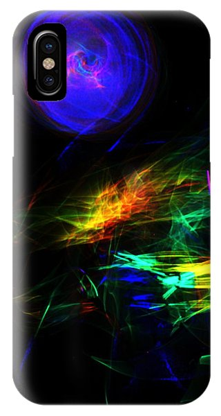 Above The Cosmic Sea IPhone Case