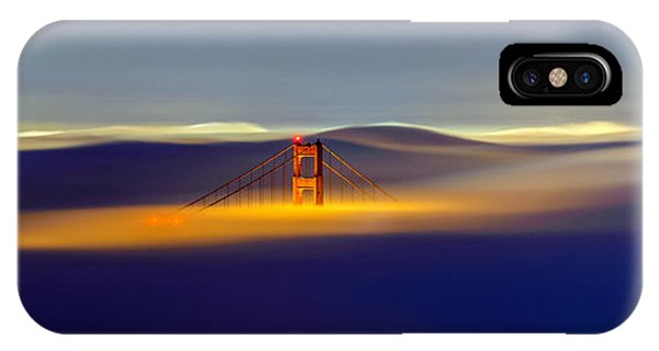 Above The Fog II IPhone Case