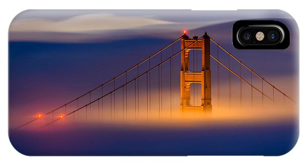 Above The Fog IPhone Case