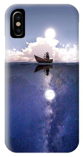 Above The Night IPhone Case