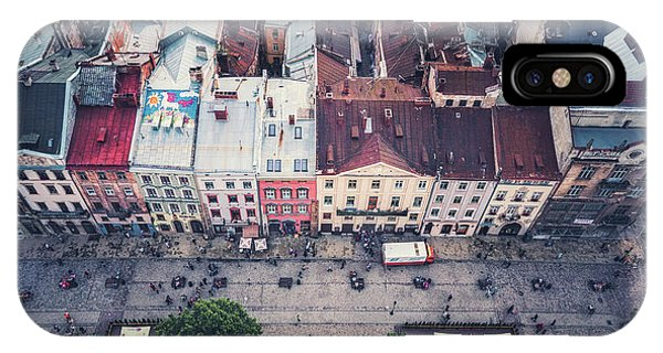 Rooftops iPhone Case - Above The Rooftops by Evelina Kremsdorf
