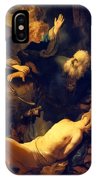 Abraham And Isaac IPhone Case