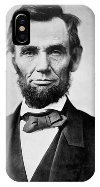 Abraham Lincoln -  Portrait IPhone Case