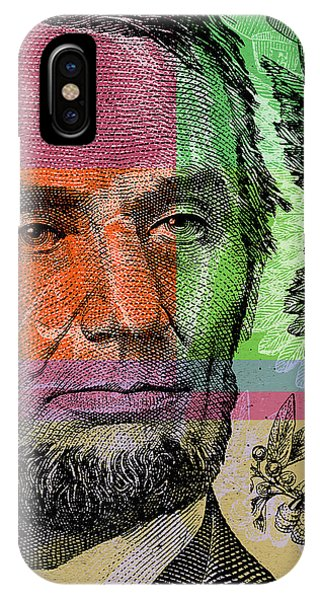 Abraham Lincoln - $5 Bill IPhone Case