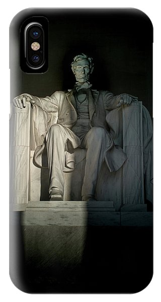 Abraham Lincoln And The Current State Of Affairs IPhone Case