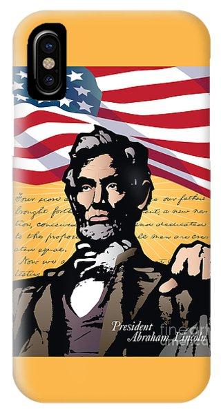 Abraham Lincoln, Gettysburg Address IPhone Case