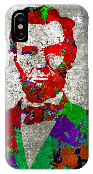 Abraham Lincoln On Silver - Amazing President IPhone Case