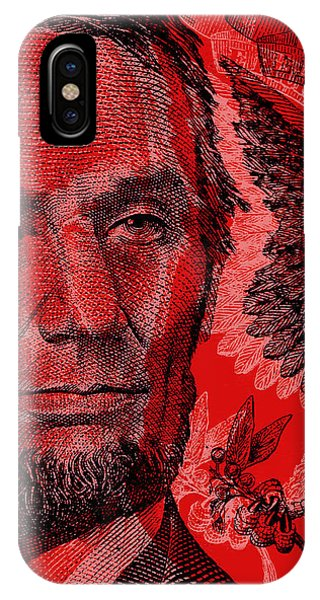 Abraham Lincoln Pop Art IPhone Case