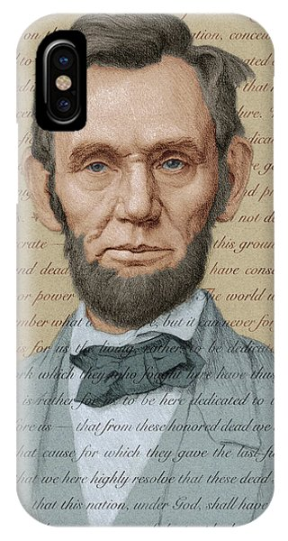 Abraham Lincoln - Soft Palette IPhone Case