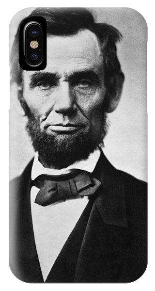 History iPhone Case - Abraham Lincoln by War Is Hell Store