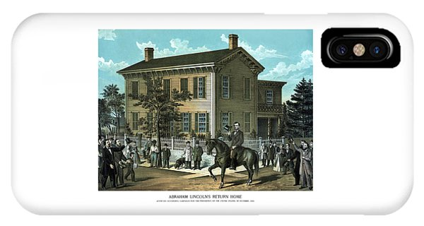 Abraham Lincoln iPhone Case - Abraham Lincoln's Return Home by War Is Hell Store
