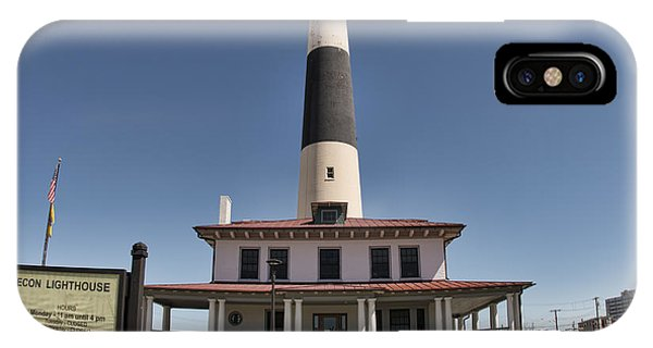 IPhone Case featuring the photograph Absecon Lighthouse by Kristia Adams