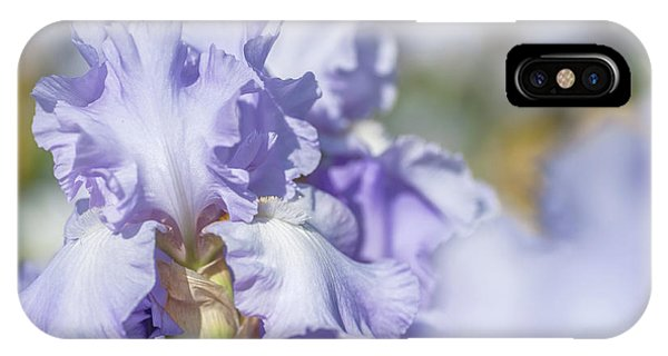 Absolute Treasure 1. The Beauty Of Irises IPhone Case