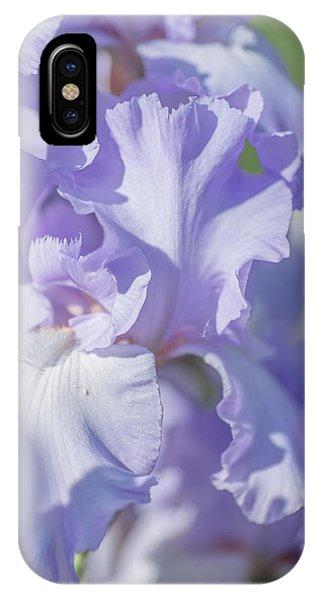 Absolute Treasure Closeup 2. The Beauty Of Irises IPhone Case