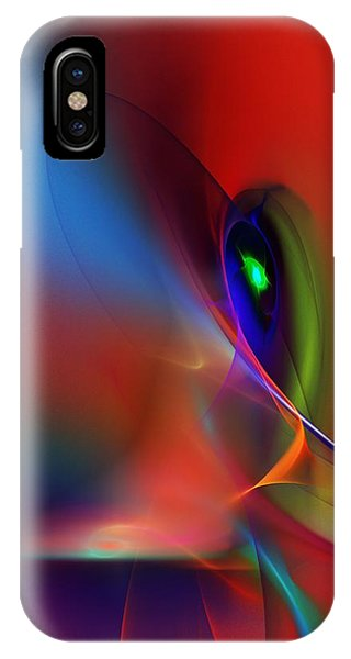 Abstract 042612a IPhone Case