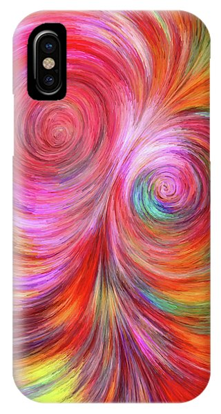 Abstract 072817 IPhone Case