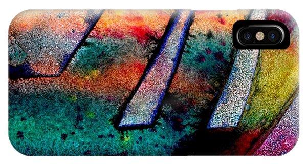 Texture iPhone Case - Abstract 32 by John  Nolan
