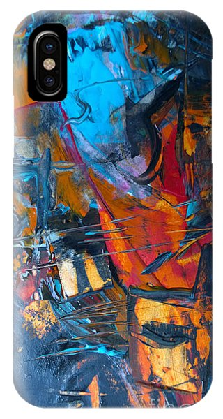 Abstract #42715b IPhone Case