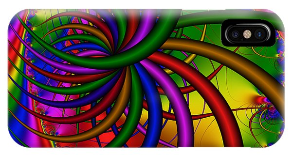 Abstract 523 IPhone Case