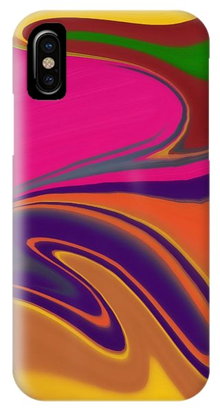 Light Speed iPhone Case - Abstract 6 by Art Spectrum