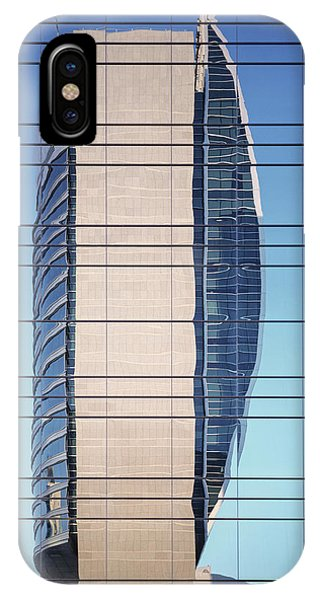 Abstract Architecture - National Bank Of Dubai IPhone Case