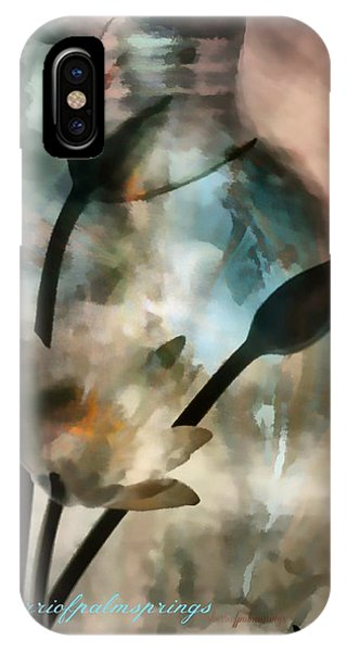Sherri iPhone Case - Abstract Art  A Special Place In Heaven by Sherri's - Of Palm Springs