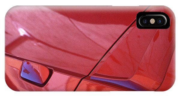 abstract automobile photograph - Carscape IPhone Case