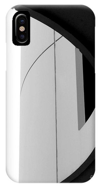 B / W   Abstract  IPhone Case