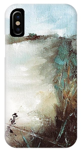 Abstract Barbwire Pasture Landscape IPhone Case