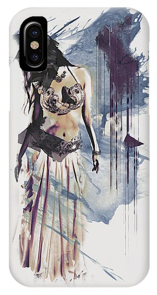 Abstract Bellydancer IPhone Case