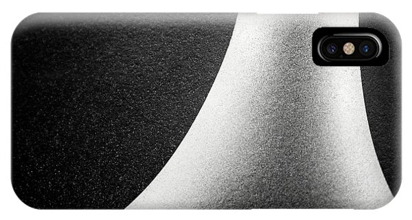 Abstract-black And White IPhone Case