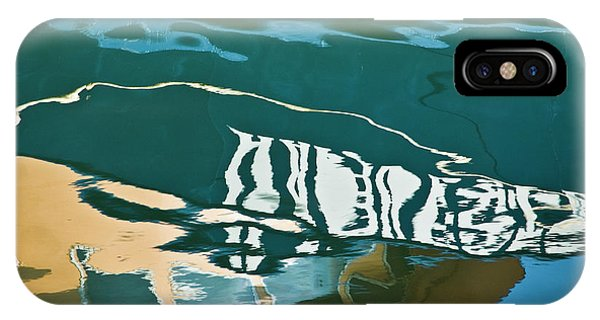 Abstract Boat Reflection IPhone Case