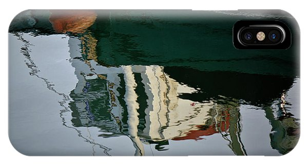 Abstract Boat Reflection II IPhone Case