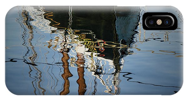 Abstract Boat Reflection IIi IPhone Case