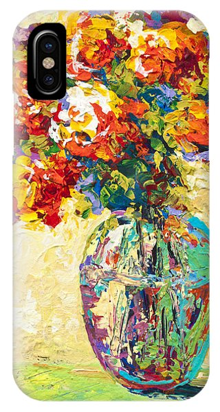 Abstract Boquet Iv IPhone Case