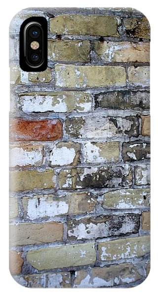 Abstract Brick 10 IPhone Case