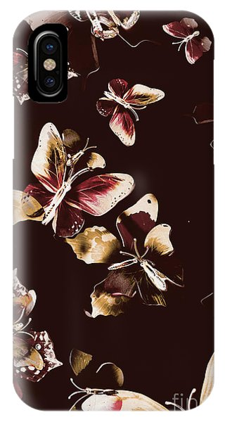 Pollination iPhone Case - Abstract Butterfly Fine Art by Jorgo Photography - Wall Art Gallery