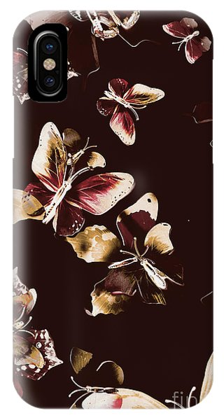 Zoology iPhone Case - Abstract Butterfly Fine Art by Jorgo Photography - Wall Art Gallery