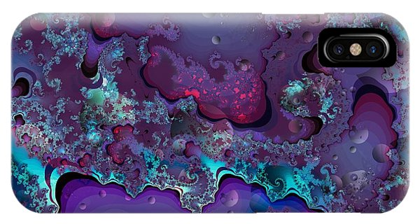 Abstract Chaotic IPhone Case