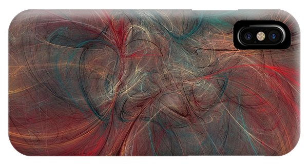 Abstract Chaotica 10 IPhone Case