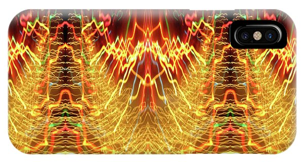 Abstract Christmas Lights #175 IPhone Case