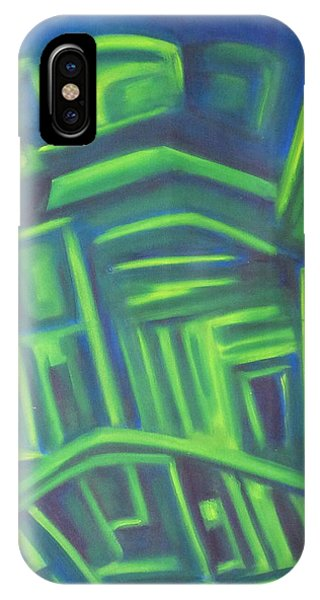 Abstract Cityscape Series IIi IPhone Case