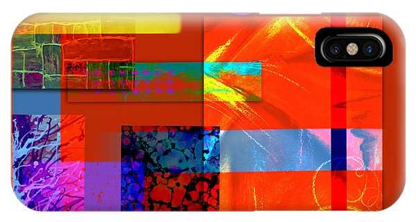 Illusion iPhone Case - Collage Abstract 5 by Patricia Lintner