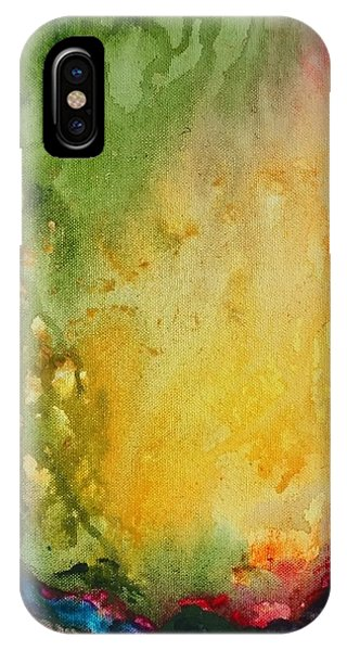 Abstract Color Splash IPhone Case