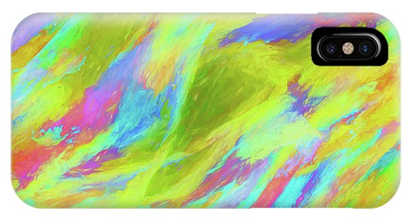 Abstract - Currents IPhone Case