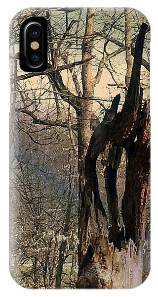 Abstract Dead Tree IPhone Case