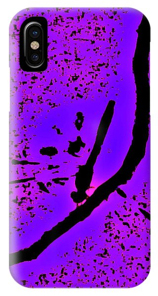 Abstract Dragonfly IPhone Case