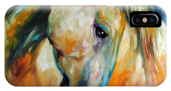 Abstract Equine Eccense IPhone Case