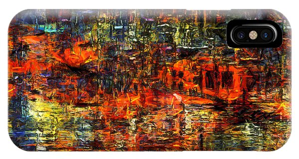 Abstract Evening IPhone Case
